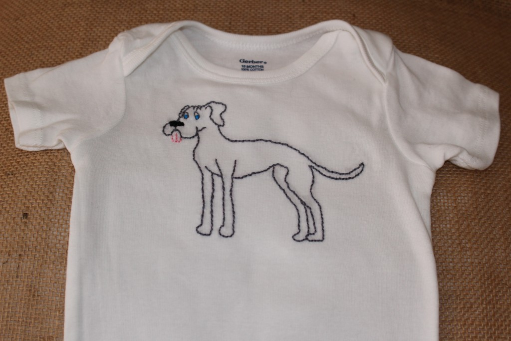 great dane onesie